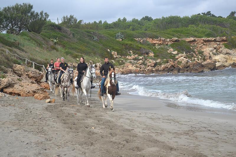 excursion caballo en mallorca